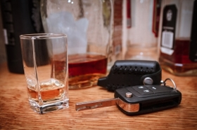 Alcohol and car keys - DUI second offense